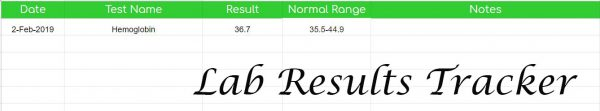 Lab Results Tracker